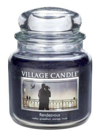 Świeca zapachowa Village Candle ŚREDNIA 453 gr - Rendezvous