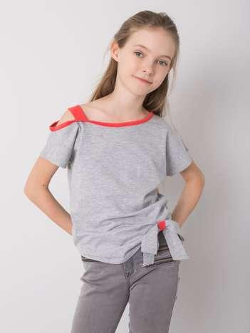 Szara bluzka dziewczęca DODO KIDS