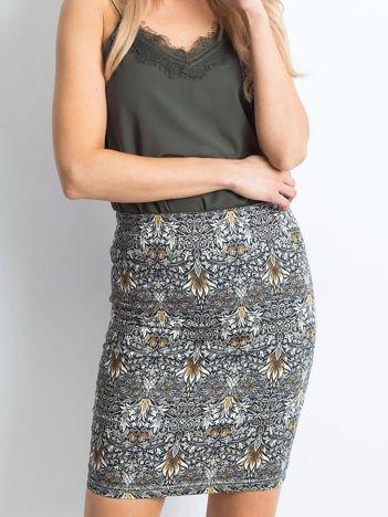 Szara spódnica Formalwear