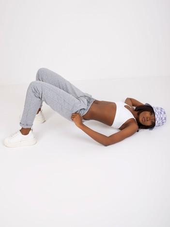 Szare melanżowe spodnie Approachable