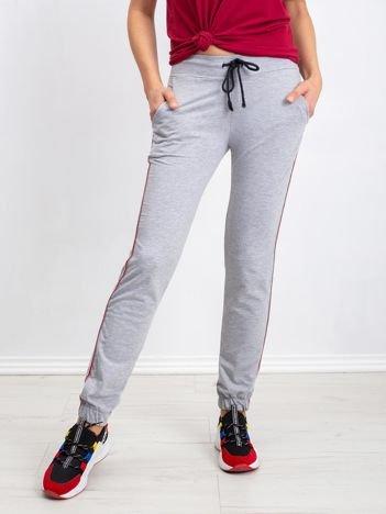 Szare spodnie Mystery
