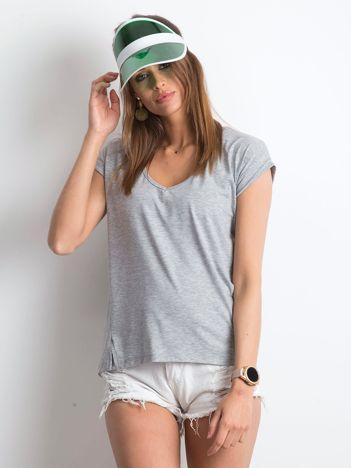 Szary t-shirt Vibes