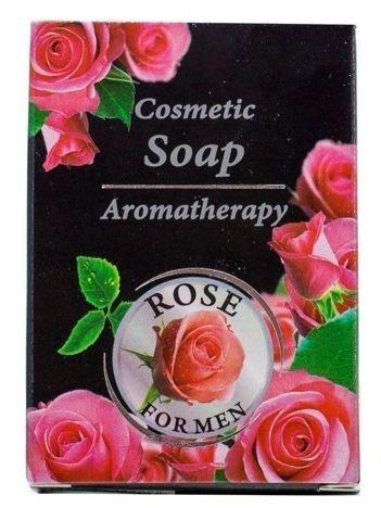 THE ROSE Mydło różane dla mężczyzn 100 g