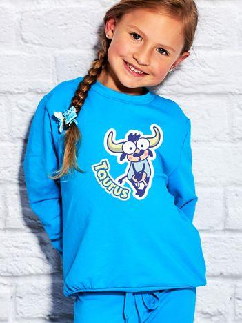 Turkusowa bluza dziecięca znak zodiaku BYK