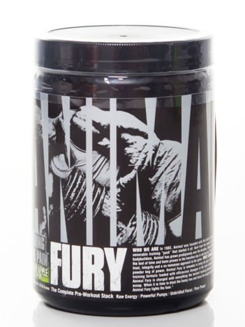 Universal - Przedtreningówka Animal Fury - 80g Watermelon