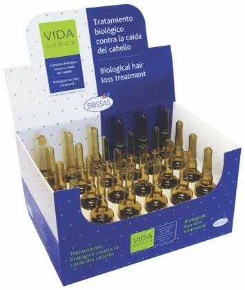 VIDA SHOCK Profesjonalne ampułki przeciw wypadaniu włosów biologiczna kuracja 24x10ml