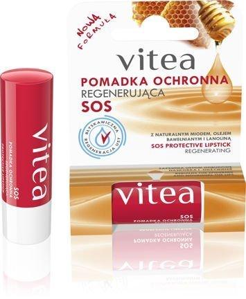 VITEA Pomadka ochronna Regenerująca (miód, olej bawełniany, lanolina) 4,9 g