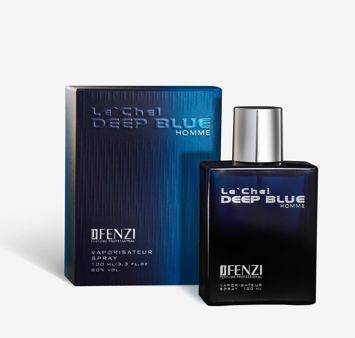 WODA PERFUMOWANA MĘSKA JFENZI LE'CHEL DEEP BLUE 100 ml
