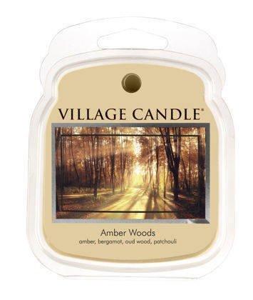 Wosk zapachowy VILLAGE - Amber Woods