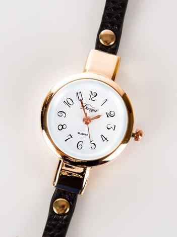 ZŁOTY zegarek damski NIESKOŃCZONOŚĆ
