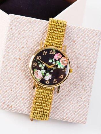 Zegarek damski KWIATY
