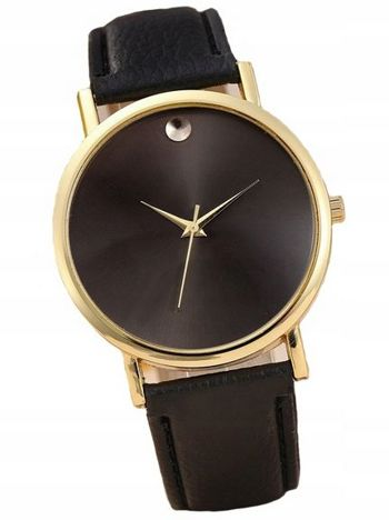 Zegarek damski czarny MOON
