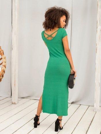 Zielona sukienka Touching