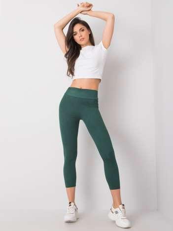 Zielone legginsy Iva RUE PARIS
