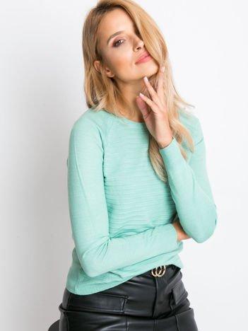 Zielony sweter Sienna
