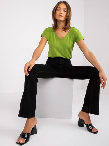 Zielony t-shirt Flawless
