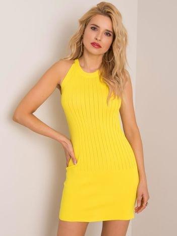 Żółta sukienka Agnes RUE PARIS