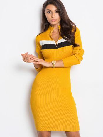 Żółta sukienka Freefall