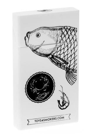 toys4smokers Etui silikonowe na papierosy slim FISH