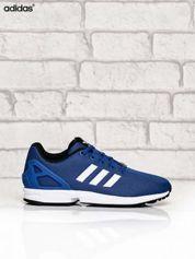 ADIDAS niebieskie buty z fakturą w kropki
