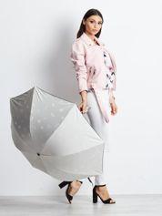 Beżowa składana parasolka