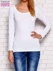 Biała bluzka z koronkowym tyłem