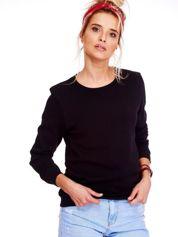 Czarna bluza basic