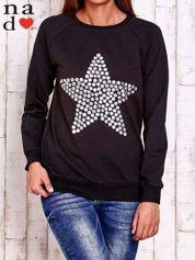 Czarna bluza z gwiazdą