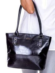 Czarna modułowa torba damska