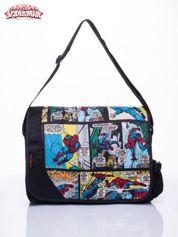 Czarna torba szkolna Marvel Spiderman