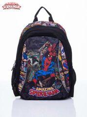 Disney Czarny plecak szkolny MARVEL Spiderman