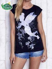 Czarny t-shirt TINKER BELL