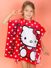 Czerwony szlafrok dla dziewczynki HELLO KITTY