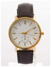 Damski zegarek. Duża, wyraźna tarcza. Elegancki. Ozdobny datownik. Doskonały na każdą okazję.