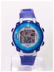 Dziecięcy-sportowy zegarek wodoodporny z podświetlaną tarczą i alarmem. Wygodny silikonowy pasek.