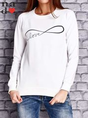 Ecru bluza z napisem LOVE