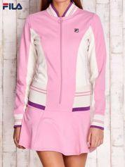 FILA Różowa sukienka sportowa z suwakiem