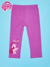 Fuksjowe legginsy dla dziewczynki nadruk MY LITTLE PONY