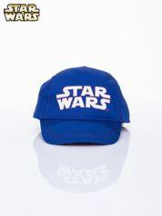 Granatowa chłopięca czapka z daszkiem STAR WARS