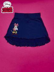 Granatowa spódnica dla dziewczynki MINNIE MOUSE