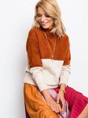 Jasnobrązowy sweter Taylor