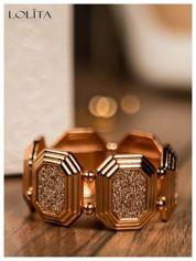 LOLITA Stylowa bransoletka CLASSIC różowe złoto
