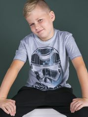 Niebieski t-shirt dla chłopca STAR WARS
