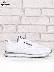 REEBOK Białe buty męskie sportowe z przeszyciami