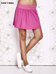 Różowa spódnica z falbanami Funk n Soul