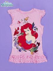 Różowa tunika dla dziewczynki MAŁA SYRENKA