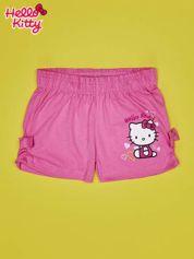 Różowe szorty dla dziewczynki HELLO KITTY