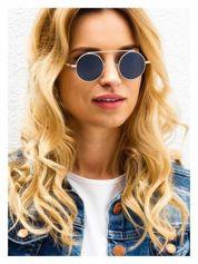 Szare okulary przeciwsłoneczne LENONKI RETRO