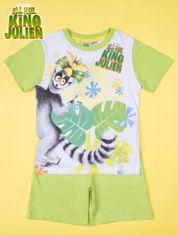 Zielona piżama chłopięca KRÓL JULIAN