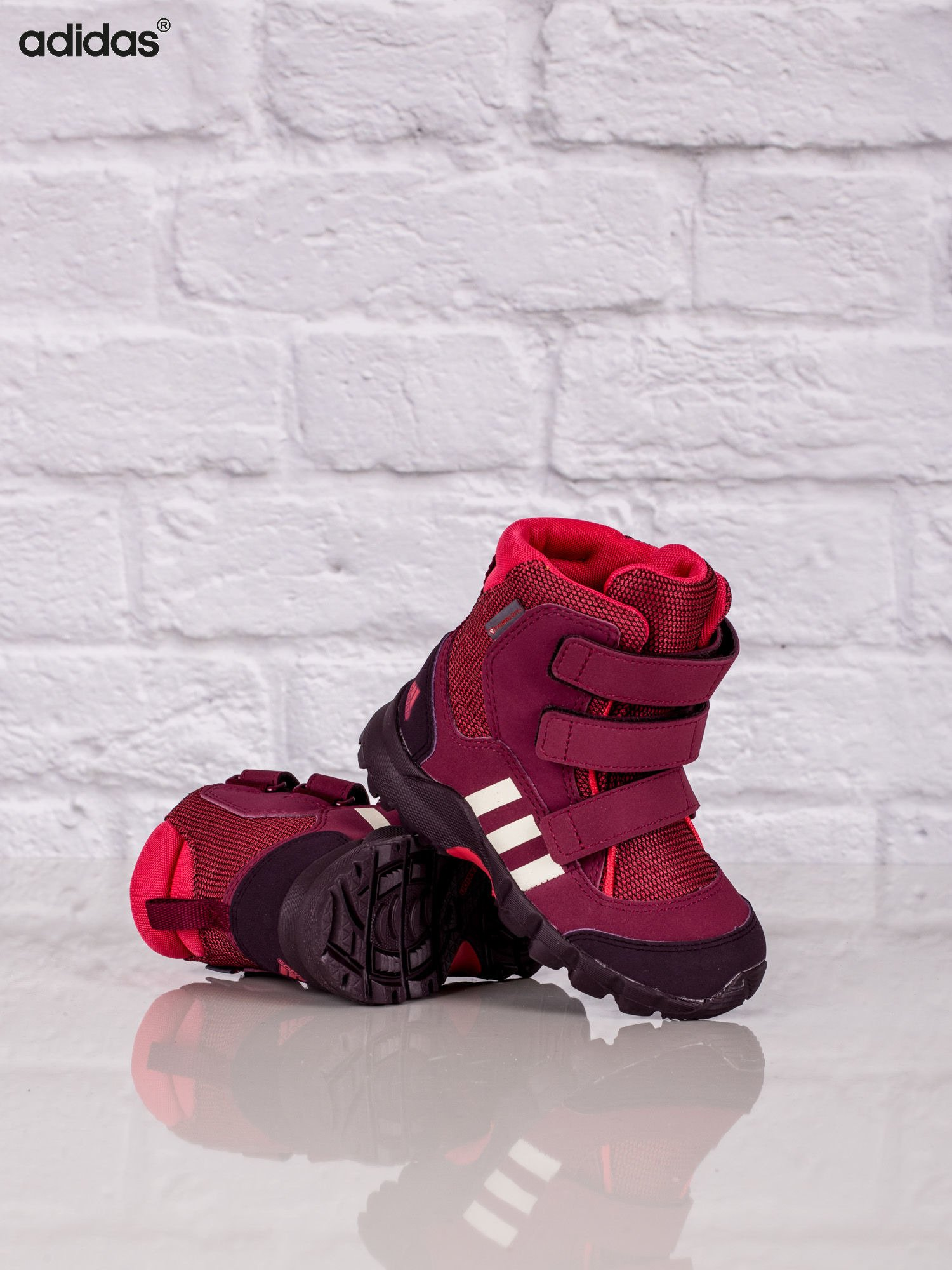 1088091578cd1 ADIDAS Różowe buty zimowe dziecięce CW Holtanna Snow CF I - Dziecko ...